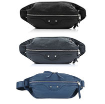 【関税負担】 BALENCIAGA DOUBLE ZIPS BUM BAG