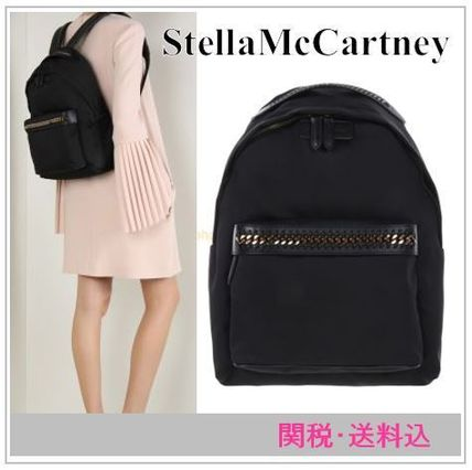 Backpack Black Guan into StellaMcCartney FALABELLA GO