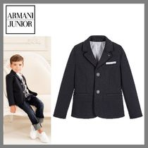 大人OK! Armani Junior★Boys NavyBlue ブレザー★4-16Y 関税込
