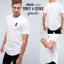 SALE【Only & Sons】半袖 ロゴTシャツ ホワイト / 送料無料