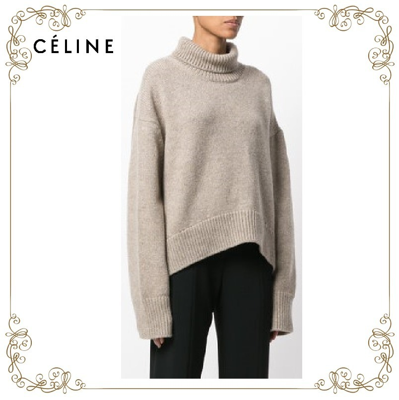 【17AW!新作!】★CELINE★roll-neck cashmere jumper