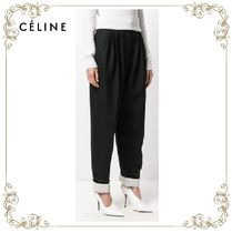 【17AW!新作!】★CELINE★high-waisted trousers