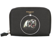 【関税負担】 GIVENCHY MONKEY BROTHER COIN/CARD WALLET