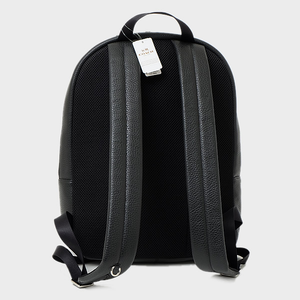 ★SALE★COACH OUTLET 上質なレザーのバックパック♪ BLACK