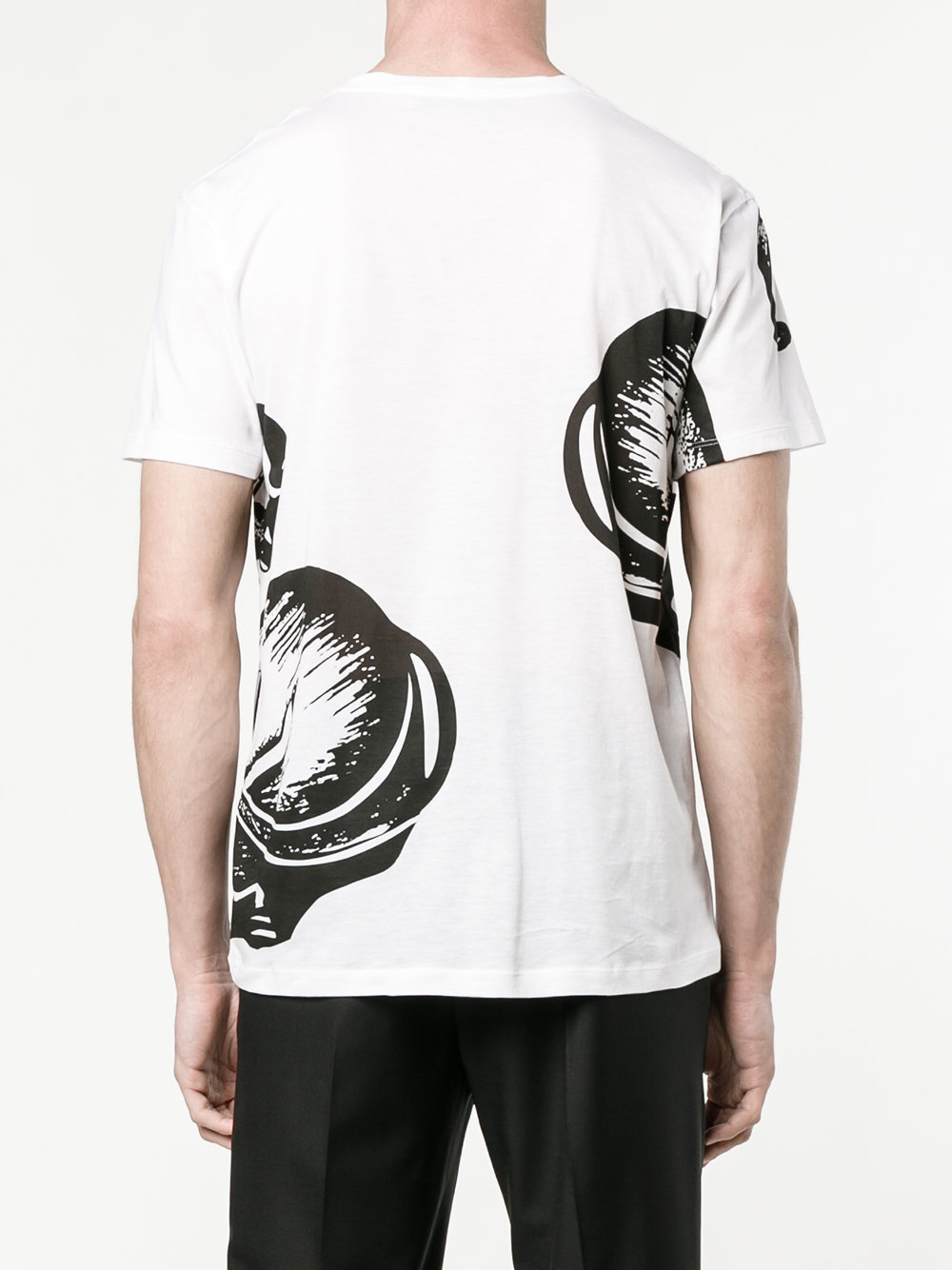 17SS VM154 PANTHER PRINTED T-SHIRT