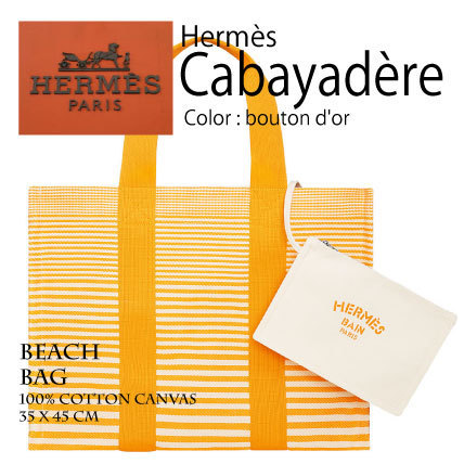 HERMES エルメス ビーチバッグ Cabayadere H102728M 01