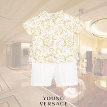 YOUNG VERSACE(ヤングヴェルサーチ) ベビーその他 YOUNG VERSACE/ベビーボーイズバロック2ピースショーツセット