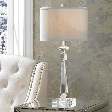 Crystal table lamp table lamp