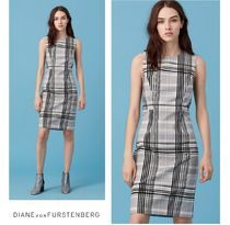 セール!DVF♡Sleeveless Tailored Dress
