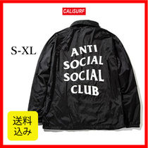 ★選べるサイズ★ ANTISOCIAL SOCIALCLUB COACH JACKET/BLACK