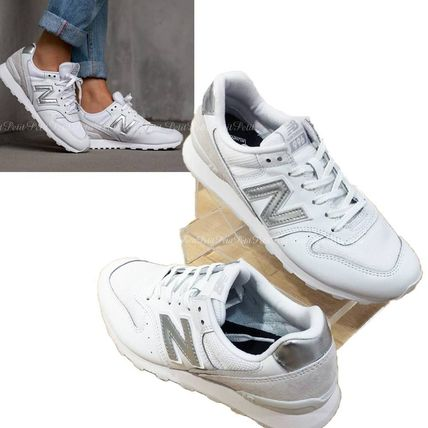 White x silver new balance WR996 WM