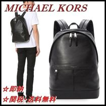 【即納・SALE】Michael Kors Owen Leather Backpack リュック