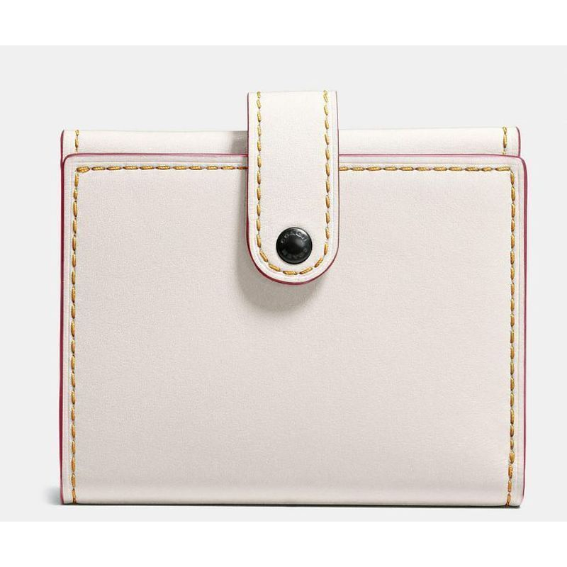 【Coach】 コーチ SMALL trifold wallet in glovetanned leather