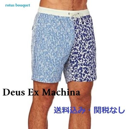 【送料込】Deus Ex Machina★mix printボードショーツ