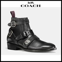 【Coach】 コーチ STRAPPED chelsea biker boot
