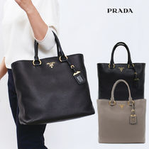 【国内即発】PRADA 1BG865 VITELLO PHENIX 2WAY トート 黒