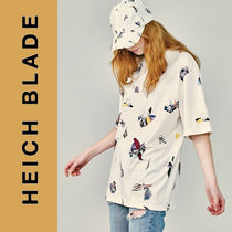 HEICH BLADE(エイチブレイド) ブラウス・シャツ HEICH BLADE◆COLLAGE ALL OVER GRAPHIC TEE◆日本未入荷