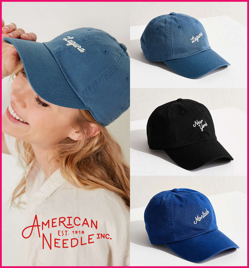 日本未入荷・新作17SS☆American Needle☆City Verbiage Hat