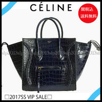 VIPSALE■CELINE■希少!リアルクロコラゲージファントム☆関税込