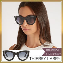 【関税込】THIERRY LASRY★Wavvvy cat-eye acetate サングラス