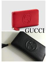 【Gucci 】大人エレガント☆Soho leather zip around wallet*