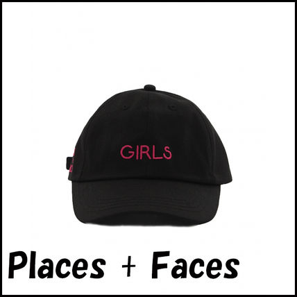 2017SS 新作 placesplusfaces GIRLS ロゴキャップ