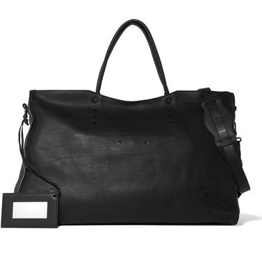 【国内発送】City Blackout XL perforated leather tote