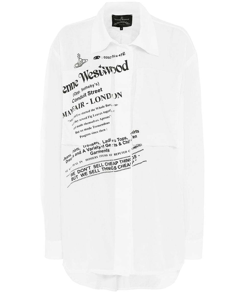 【SALE】Vivienne Westwood*WE DONT SELL CHEAP THINGS シャツ