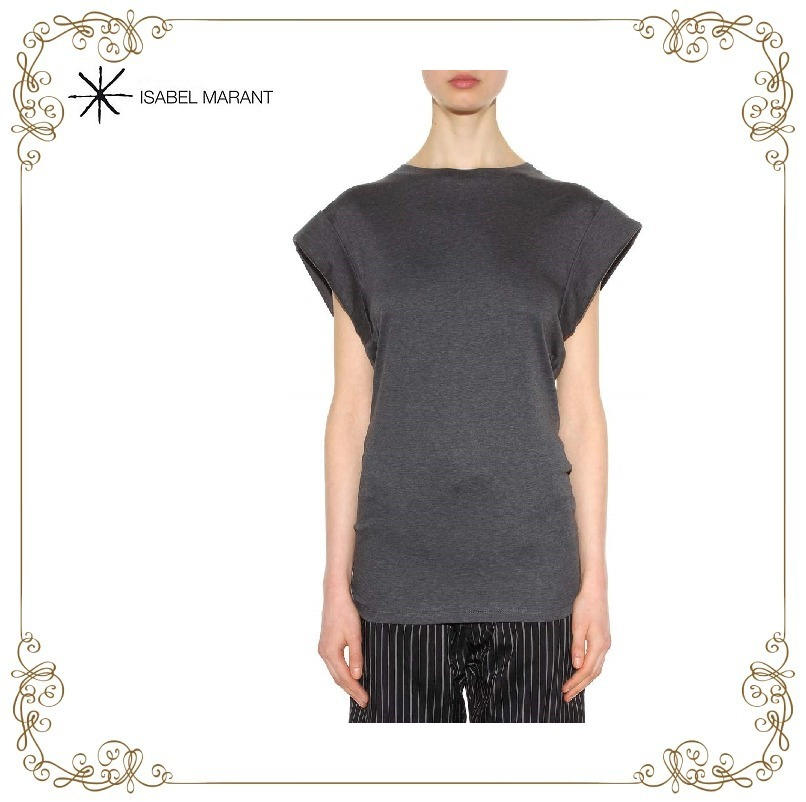 【17SS】大注目!!★ISABEL MARANT★Lowell cotton tops