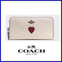 限定SALE★COACH ACCORDION zip wallet grain leather★送料込♪