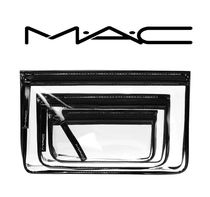 MAC 日本未入荷! クリアポーチ CLEARLY MAC / TRIO 3点セット!