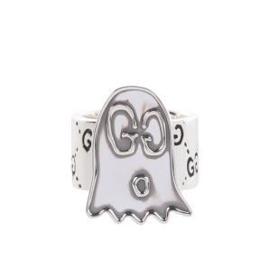GUCCI リング シルバー GucciGhost Ring モチーフ
