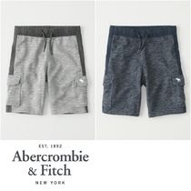 【Abercrombie Kids】Cargo Fleece Shorts ショートパンツ♪