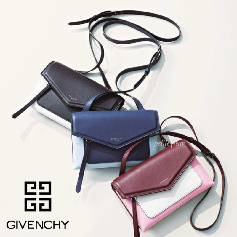 GIVENCHY*17AW*雑誌掲載*デュエット クロスボディ バッグ/3色