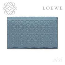 LOEWE★ロエベ Business Card Holder Stone Blue