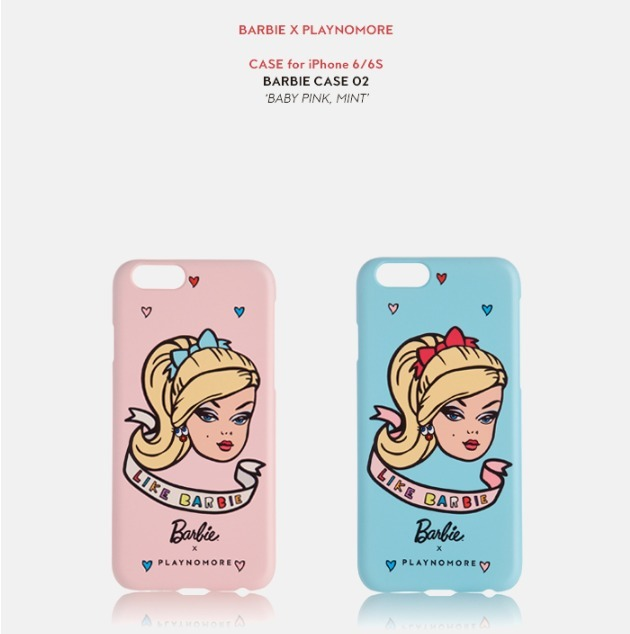 PLAYNOMORE(プレイノーモア)  [iPhone 6/6S] BARBIE case 02 2色