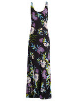 SALE!DVF-Floral-print silk maxi dress