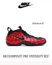 "NIKE AIR FOAMPOSITE PRO ""UNIVERSITY RED"" 送料・関税込"