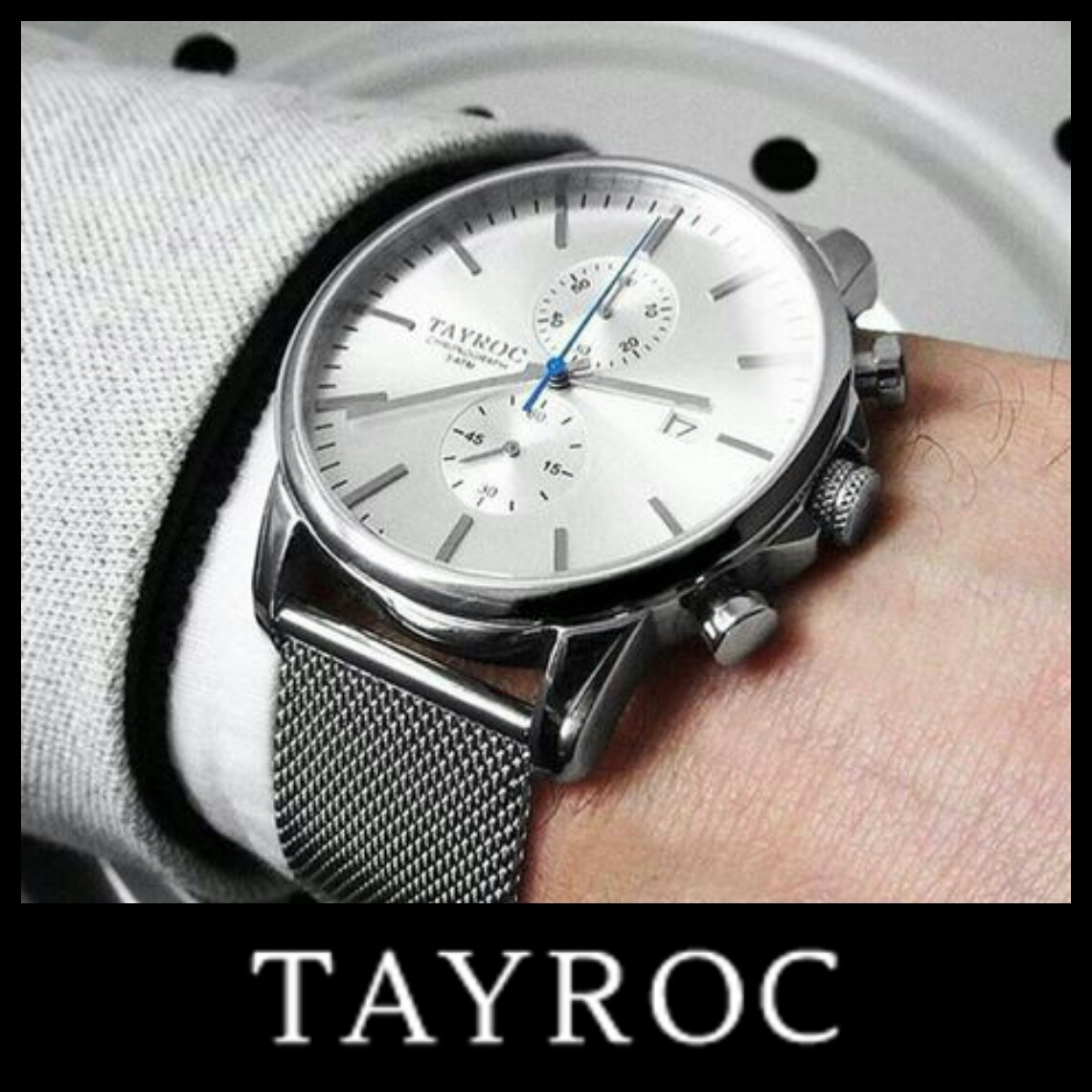 Tayroc Unisex Boundless Chronograph Watch TXM089