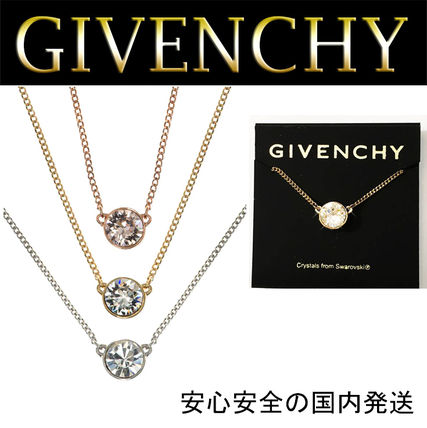 GIVENCHY ネックレス・ペンダント 【関税送料込】★GIVENCHY★スワロフスキーエレメントネックレス