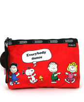 LeSportsac(レスポートサック) ポーチ LeSportsac PEANUTS FUN WITH FRIENDS ESS-WRISTLET 8236-G065