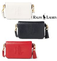 SALE!お得です♪CARMEN LEATHER CROSSBODY BAG☆Ralph Lauren