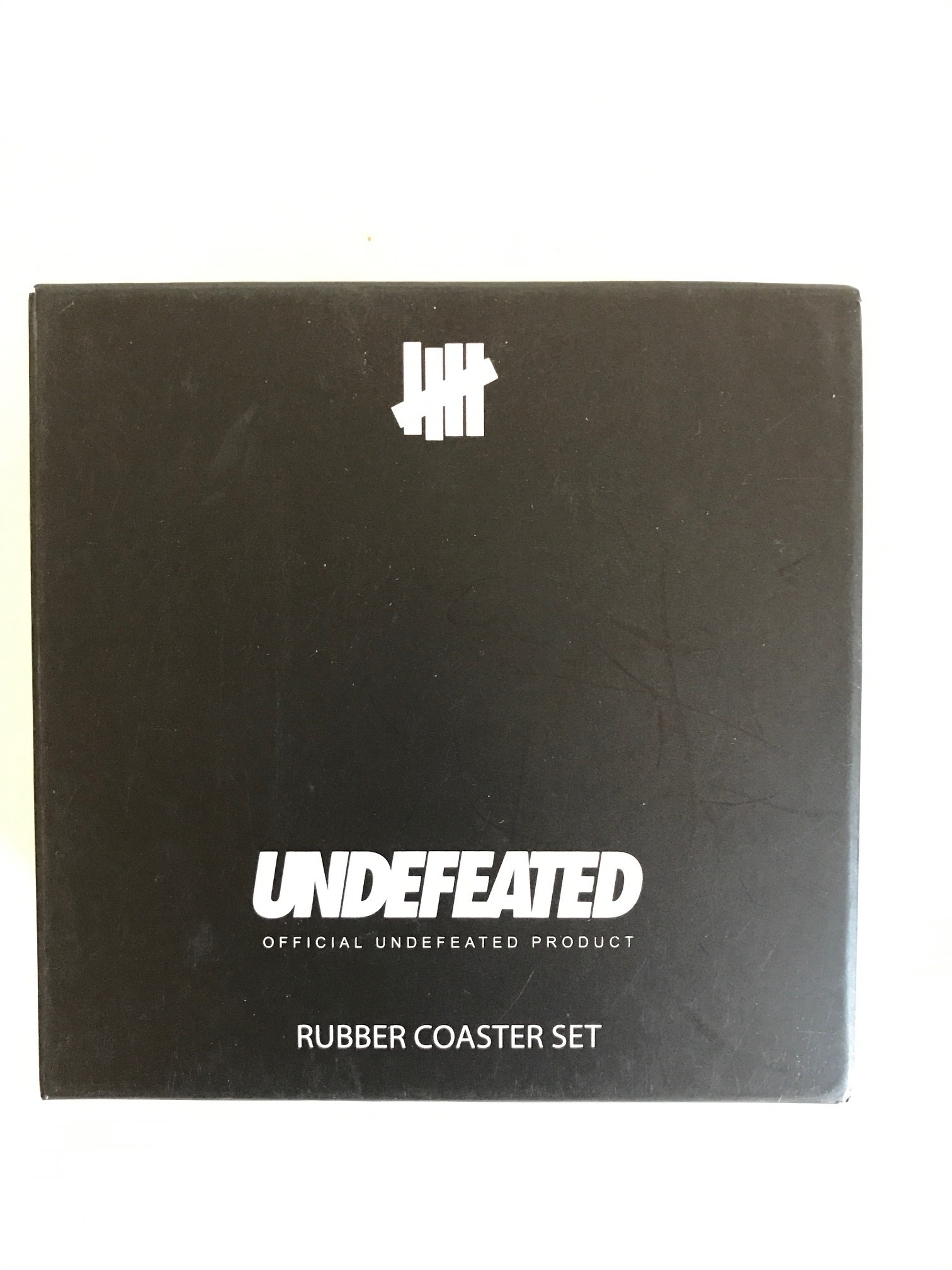 送料無料!UNDEFEATED 5 Strike Rubber Coaster / 5枚入り