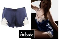 【Aubade】新作キュロット★CREPUSCULE SATINE