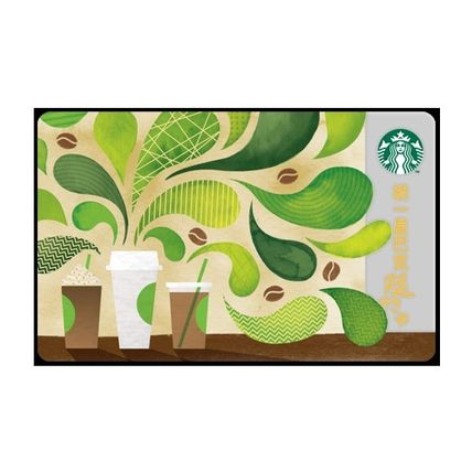 Taiwan limited STARBUCKS card coffee coffee