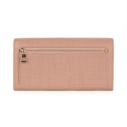 LOEWE★ロエベ Continental Wallet Blush