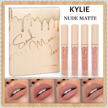 KYLIE 限定 Vacation Edition★ヌードリップ マット 4本セット