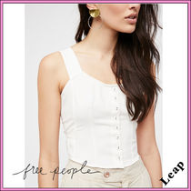 【Free People】大人気☆Taking This Town Top アイボリー ◎