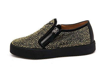 GIUSEPPE ZANOTTI スニーカー 【関税負担】 GIUSEPPE ZANOTTI ZIP-UP SLIP-ON