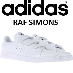 Early person winning ADIDAS RAF SIMONS Velcro leather